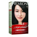 Revlon Top Speed Hair Color 68 Brownish Black Ammonia Free